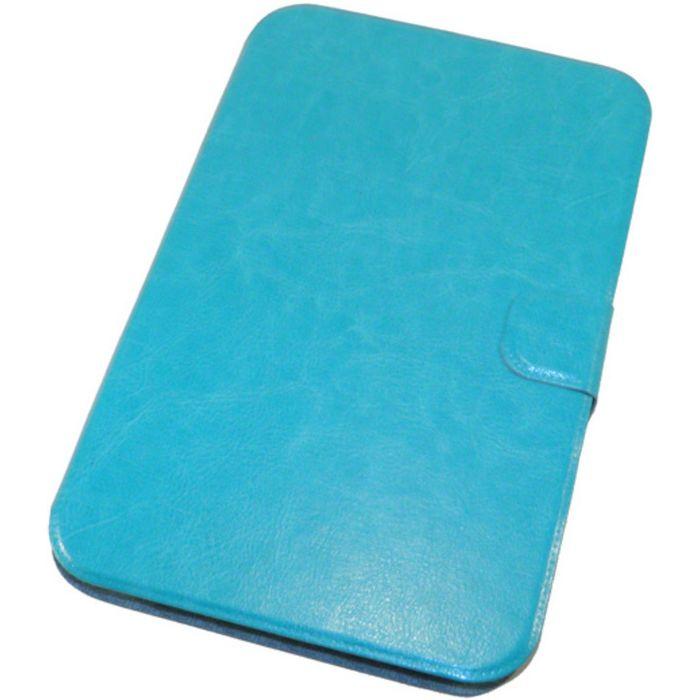 """Чехол для планшета 7"""" бирюзовый, силиконовый шелл (тех.упаковка)"""