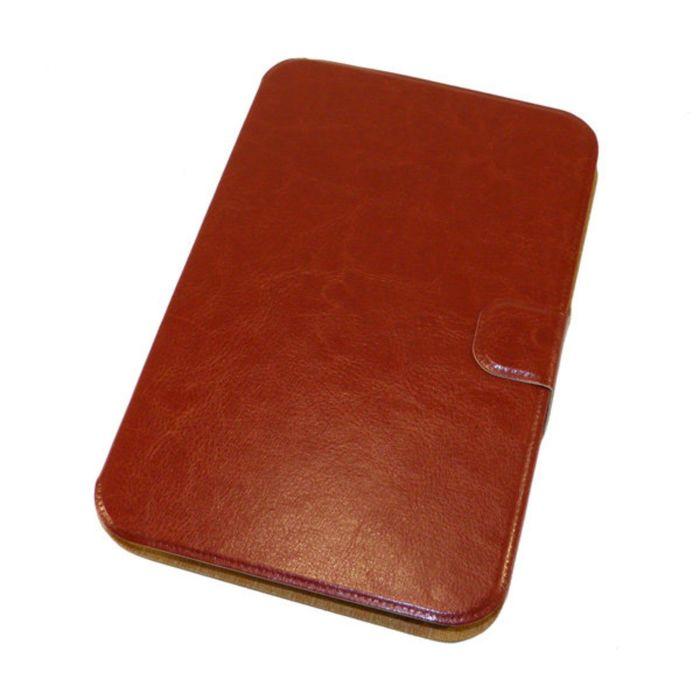 """Чехол для планшета 7"""" коричневый, силиконовый шелл (тех.упаковка)"""