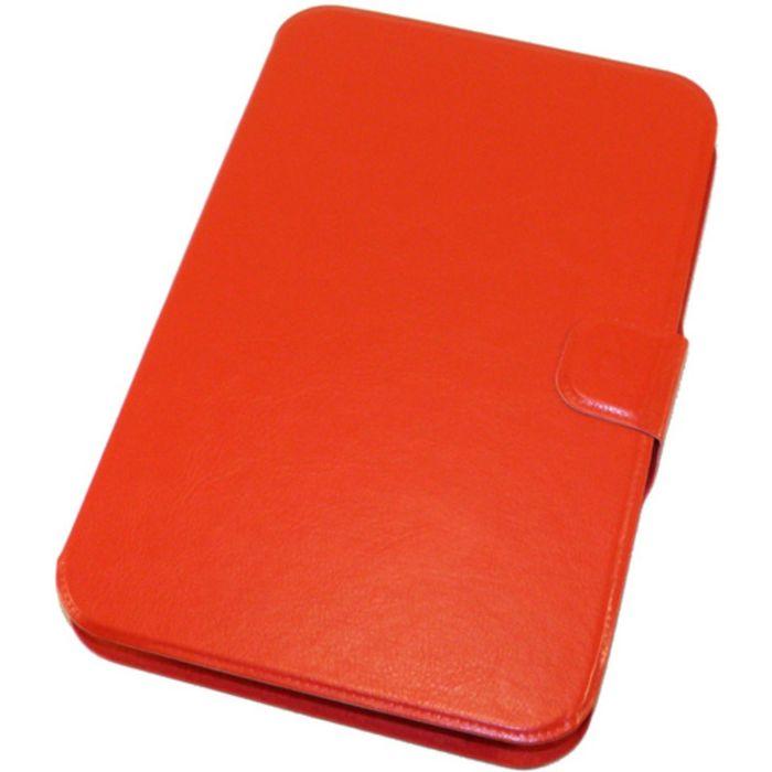 """Чехол для планшета 7"""" красный, силиконовый шелл (тех.упаковка)"""
