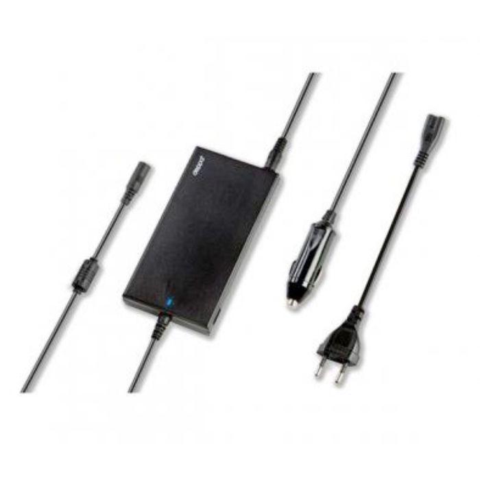 Адаптер питания для Ноутбуков Deppa (21104) Сеть+Авто 90 Вт. универ. 12 коннекторов + USB 1A