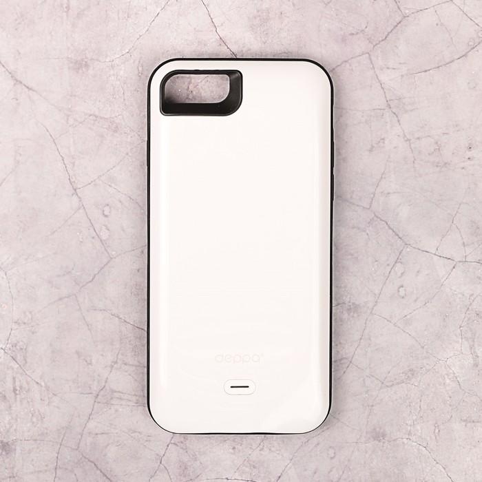 Аккумулятор-чехол DEPPA для Apple iPhone 7  NRG Case, белый 2600 мАч