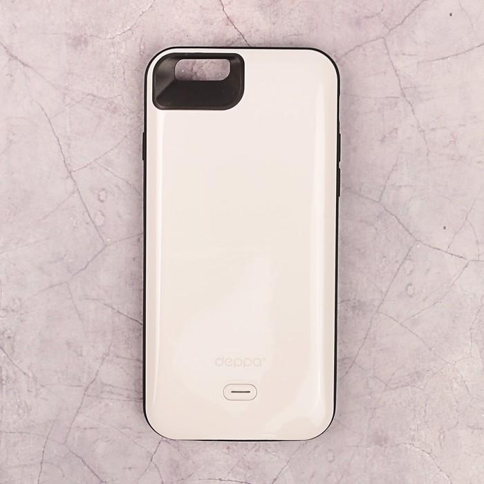 Аккумулятор-чехол DEPPA для Apple iPhone 6/6S NRG Case, белый 2600 мАч