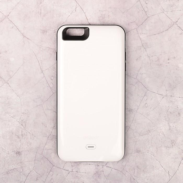 Аккумулятор-чехол DEPPA для Apple iPhone 6/6S Plus NRG Case, белый 3800 мАч