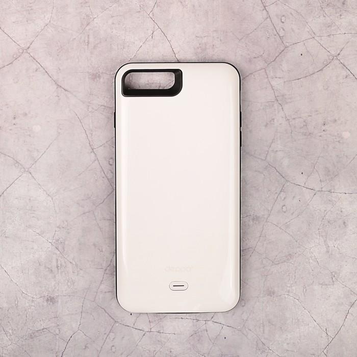 Аккумулятор-чехол DEPPA для Apple iPhone 7 Plus NRG Case, белый 3800 мАч