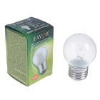 Лампа накаливания Favor ДШ, Е27, 60 Вт, 230 В, матовая