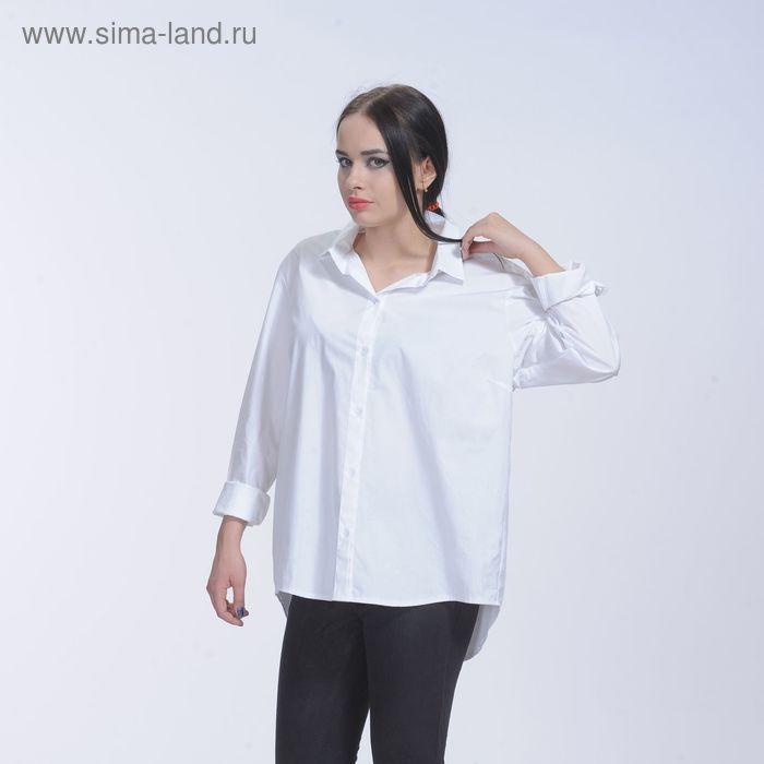 Рубашка женская, размер 42, рост 164, цвет белый 6511