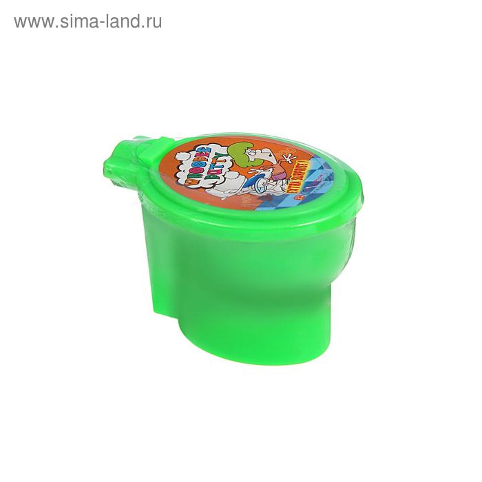 "Лизун ""Унитаз. Пук-пук"", 7 × 7 × 10 см, цвета МИКС"