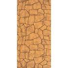 Панель МДФ листовая, камень, Алатау Коричневый, 2440 × 1220 мм