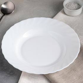 Тарелка суповая d=22 см Trianon