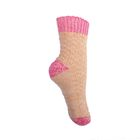 Носки для девочки шерстяные 3с40 Фактурная вязка цвет МИКС, р-р 16
