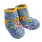 Носки детские шерстяные 3с45 «Звездочка» цвет голубой, р-р 12