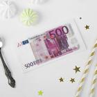 """Носовые платки бумажные """"500 евро"""""""