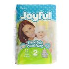 Подгузники «Joyful» Mini, 3-6 кг, 11 шт/уп