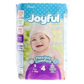 Подгузники «Joyful» Maxi, 7-18 кг, 9 шт/уп
