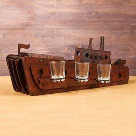 "Мини-бар деревянный ""Корабль"""