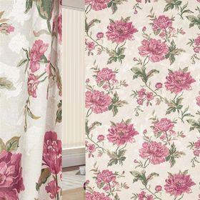 Ткань портьерная в рулоне, ширина 150 см, исполнение печать, жаккард 89307