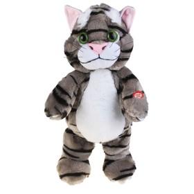 """Мягкая интерактивная игрушка-повторюшка """"Кот Тимоха"""""""