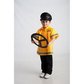 Карнавальный костюм 'Таксист', куртка, фуражка, рост 110-128 см Ош