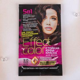 Cтойкая крем-краска для волос Effect Сolor тон тёмный каштан, 50 мл Ош