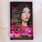 Cтойкая крем-краска для волос Effect Сolor тон горький шоколад, 50 мл