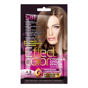 Cтойкая крем-краска для волос Effect Сolor тон шоколад, 50 мл Ош