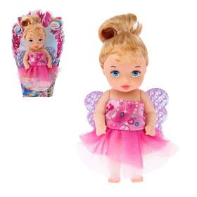 "Кукла малышка ""Сара"" в платье, МИКС"