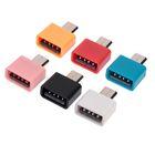 OTG адаптер microUSB - USB, цвет микс