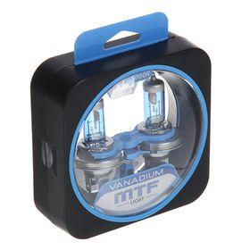 Набор ламп MTF, ВANADIUM, H4, 12 В, 60/55 Вт, 5000К , HVN1204 Ош