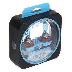 Набор ламп MTF, TITANIUM, H11, 12 В, 55 Вт, 4400K, HTN1211 Ош