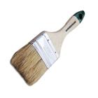 Кисть SANTOOL плоская ЕВРО 63 мм, натуральная щетина лакированная ручка