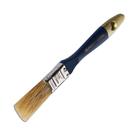 Кисть SANTOOL плоская ЭКСПЕРТ 19 мм, натуральная щетина синяя деревянная ручка