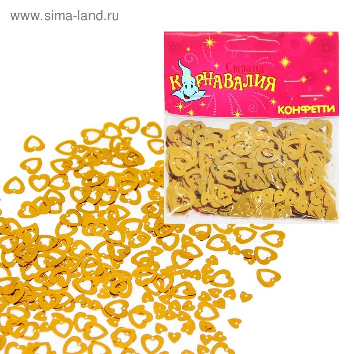 """Карнавальное конфетти ассорти """"Голуби, сердца, люди"""", 14 гр"""
