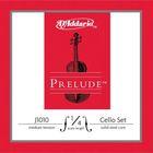 Струны для виолончели D'Addario J1010-1/4M Prelude размером 1/4, среднее натяжение