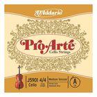 Отдельная струна D'Addario J5901-4/4M Pro-Arte  A/Ля для виолончели размером 4/4
