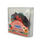 Коробка медиаторов Alice AP-100D  целлулоид, 100шт