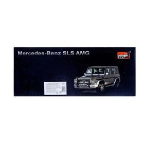 Машина радиоуправляемая Mercedes-Benz G55 AMG, масштаб 1:24, работает от батареек, свет , МИКС, MZ 27029