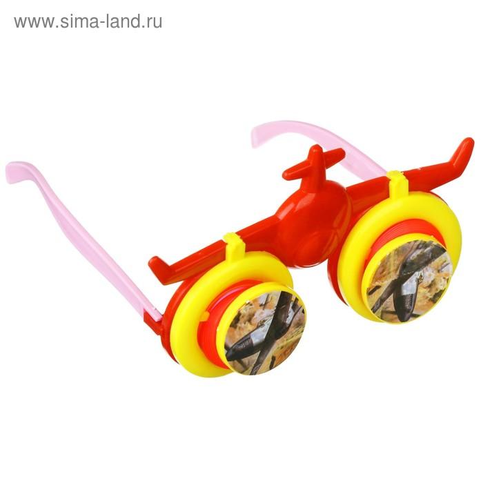 """Очки детские """"Вертолет"""" с выпадающими глазами, цвета МИКС"""