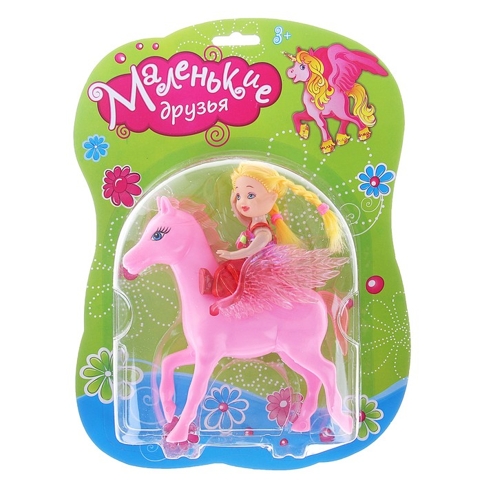 Лошадка с куклой