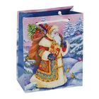 "Пакет подарочный ""Подарки Деда Мороза"", 14.5 х 11.5 х 6.5 см"
