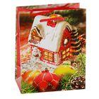 """Пакет подарочный """"Сказочный домик"""", 14.5 х 11.5 х 6.5 см"""