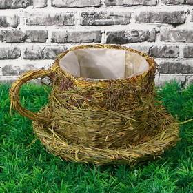 Ваза «Чашка», 19х16х11 см