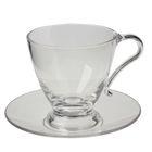 Чашка с блюдцем 220 мл Polly, чашка d=8,8 см, высота 9 см)