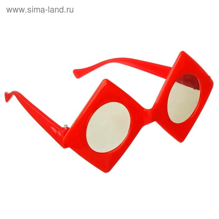"""Карнавальные очки детские """"Масти"""" красно-черные, цвета МИКС"""