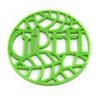 Подставка под горячее Glum, 17 х 17 х 0,8 см, зеленая