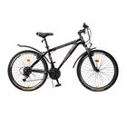 """Велосипед 26"""" Progress модель Advance RUS, 2017, цвет черный, размер 17"""""""