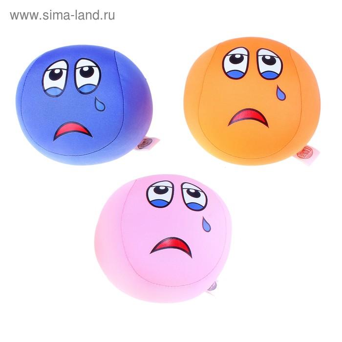 """Мягкая игрушка-антистресс """"Со слезинкой"""" мяч, цвета МИКС"""