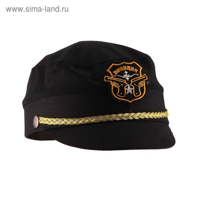 "Шляпа ""Полиция"", р-р. 58"