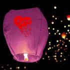 """Небесный фонарик """"С любовью!"""", цвет: розовый"""