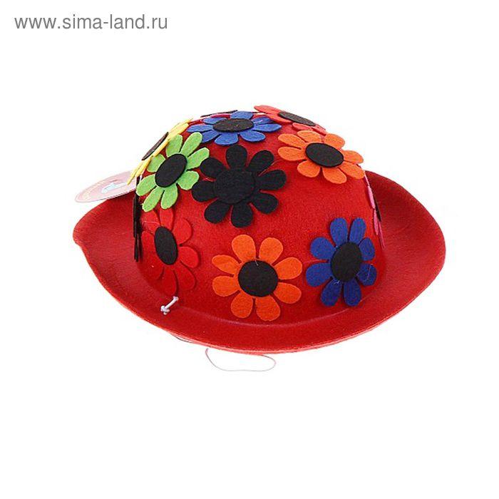 """Карнавальная шляпка """"Ромашки"""", цвета МИКС"""