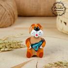 Свисток, ковровская глиняная игрушка «Собачка», микс